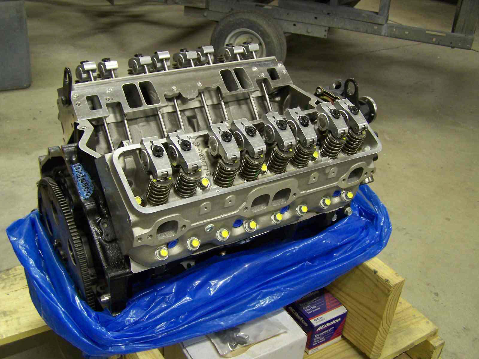 Crate Chevy 396 Valve Covers
